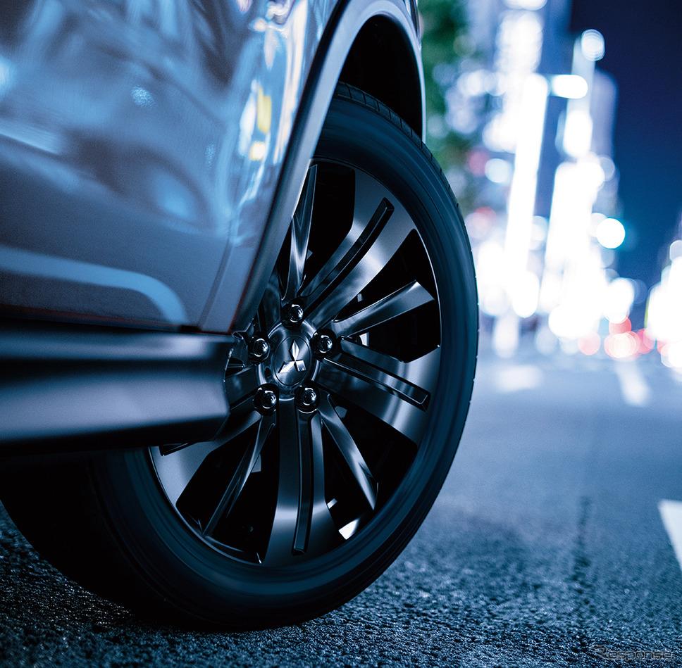 三菱 RVR ブラックエディション ホイールイメージ《画像:三菱自動車》