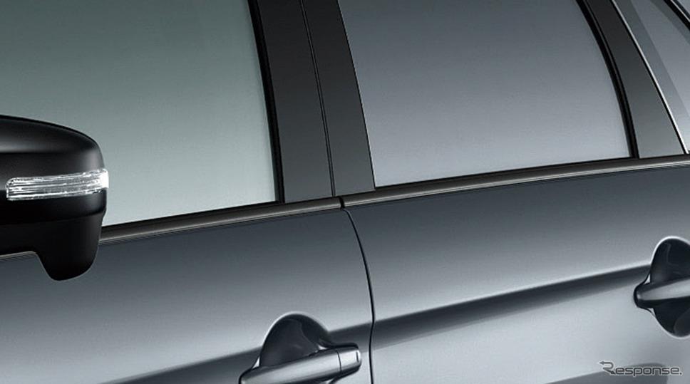 三菱 RVR ブラックエディション ベルトラインモール《画像:三菱自動車》