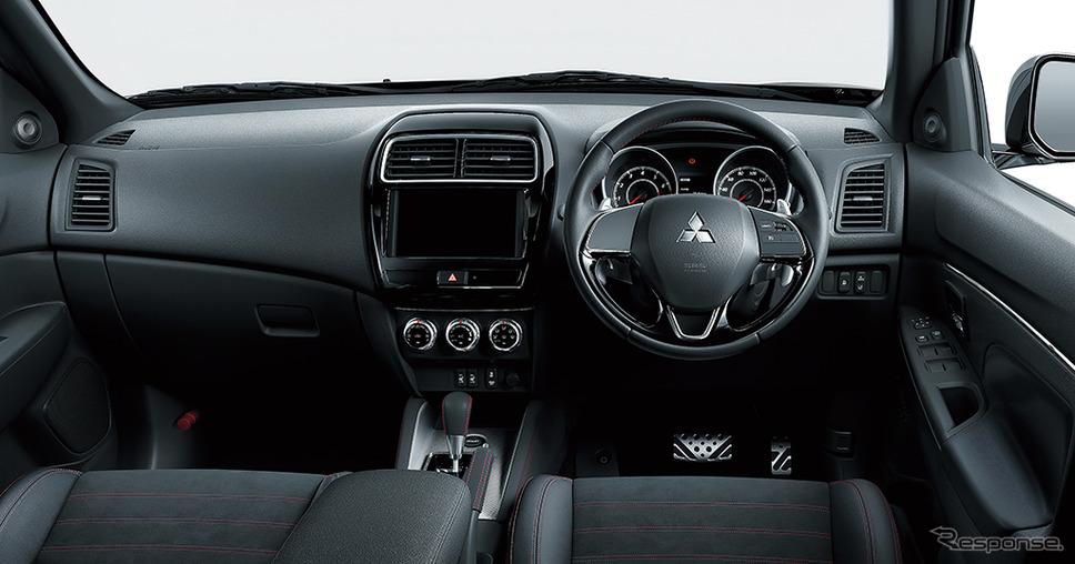 三菱 RVR ブラックエディション インパネ《画像:三菱自動車》