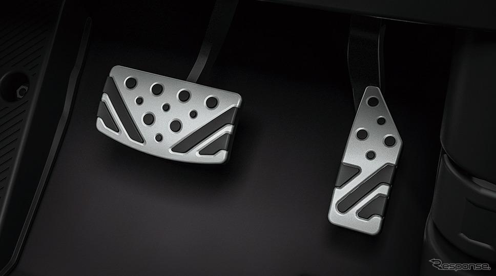 三菱 RVR ブラックエディション アルミペダル《画像:三菱自動車》