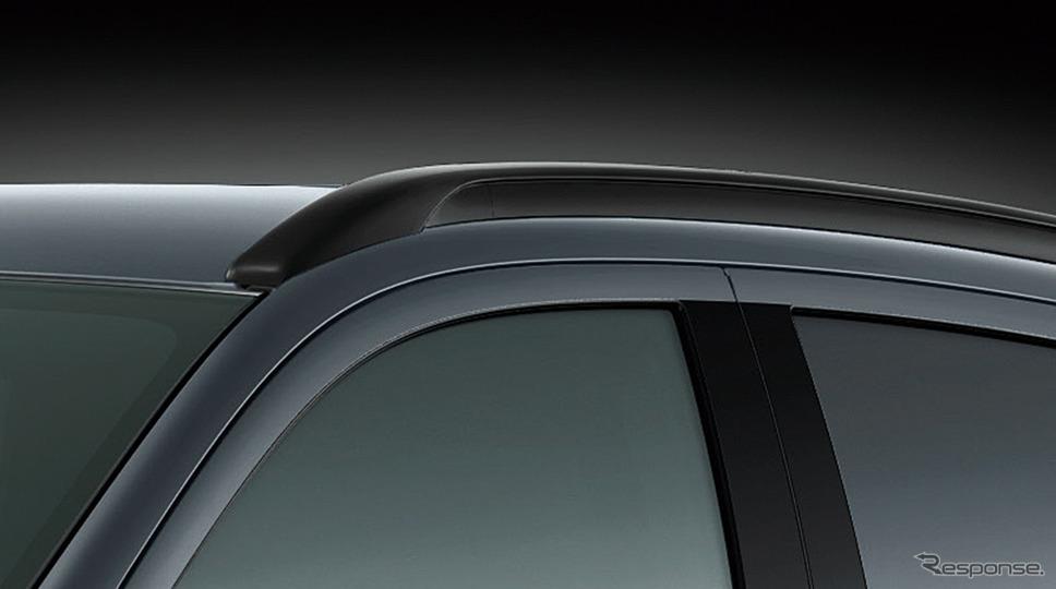 三菱 RVR ブラックエディション ルーフレール《画像:三菱自動車》
