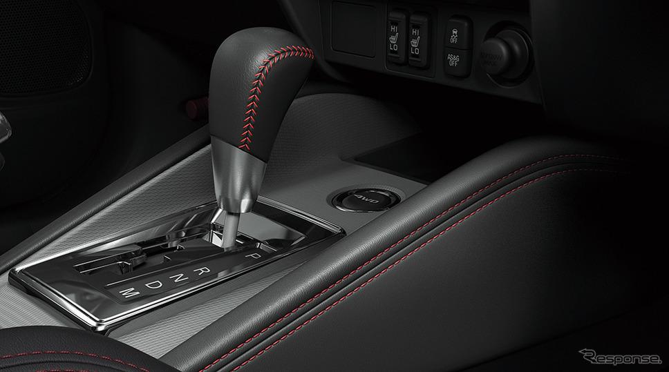 三菱 RVR ブラックエディション 本革巻シフトノブ《画像:三菱自動車》