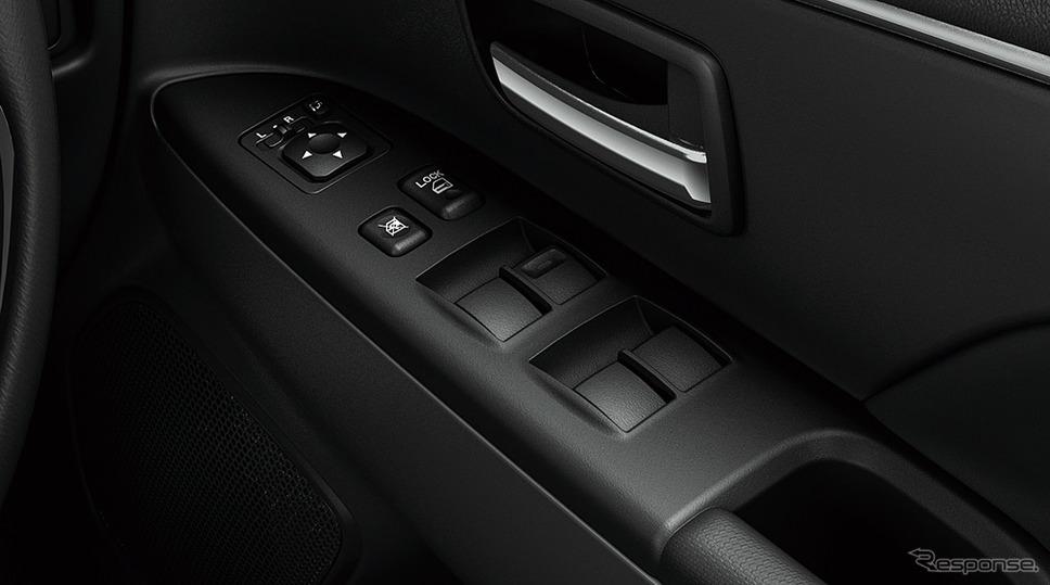 三菱 RVR ブラックエディション パワーウインドウスイッチパネル《画像:三菱自動車》