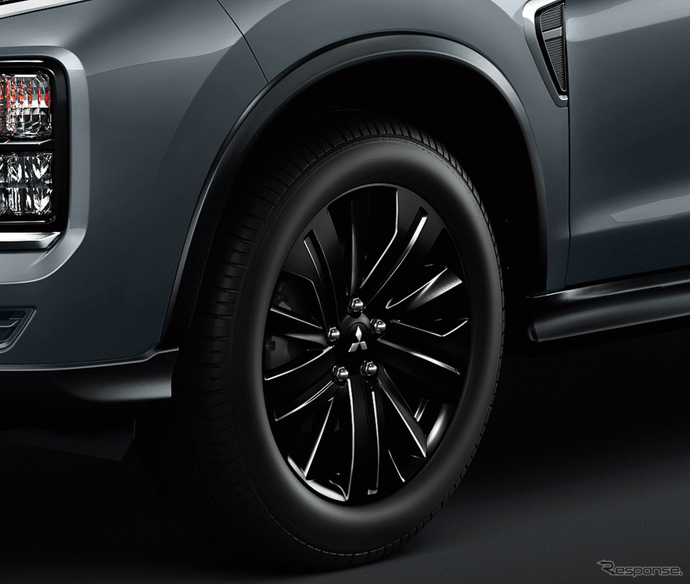 三菱 RVR ブラックエディション 18インチアルミホイール《画像:三菱自動車》