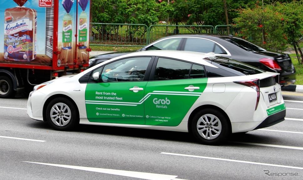配車アプリの巨人「グラブ(Grab)」がついに日本上陸(写真はシンガポール)《撮影 藤井真治》