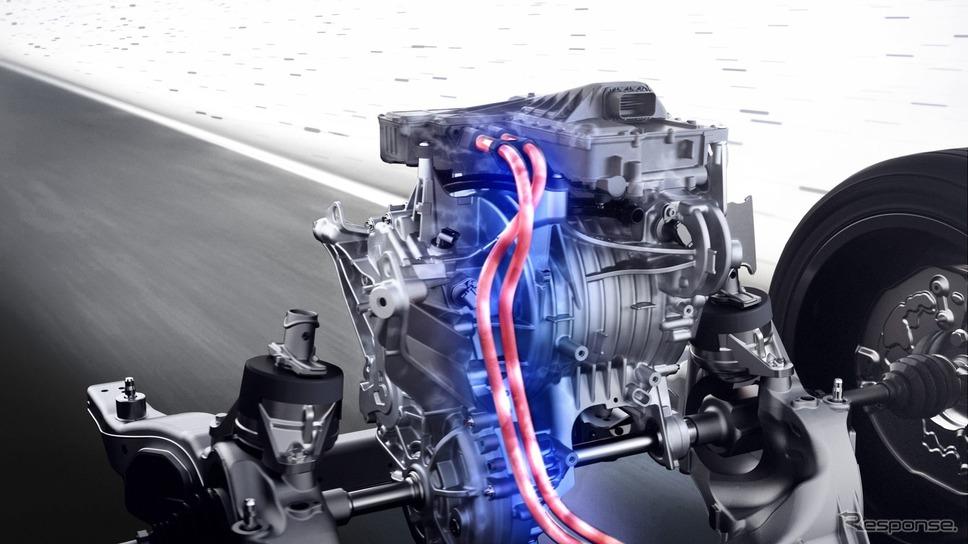 メルセデスベンツの新世代EVパワートレイン「eATS」《photo by Mercedes-Benz》