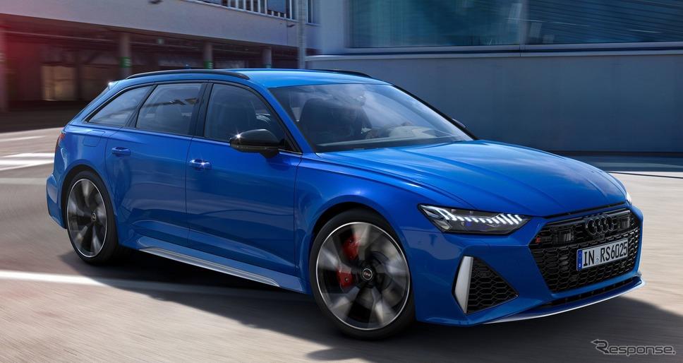 アウディ RS6 アバント のアニバーサリーパッケージ 25 イヤーズオブ RS《photo by Audi》