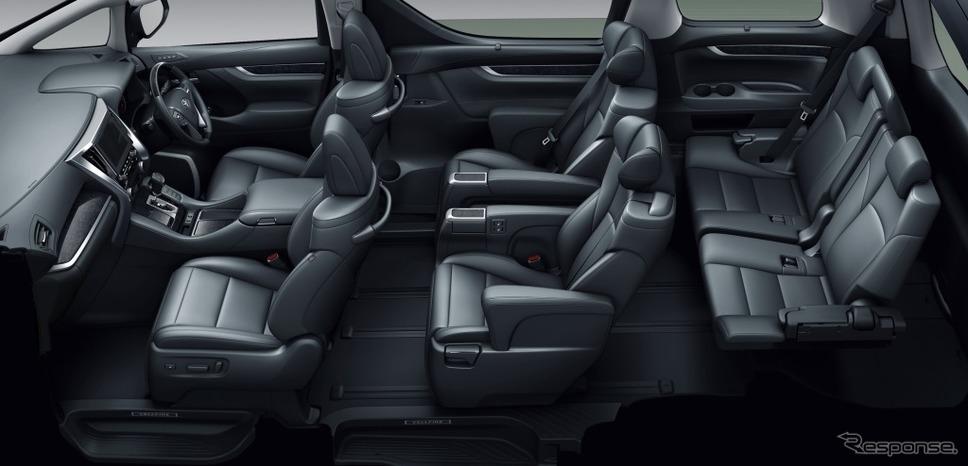 トヨタ アルファード SR Cパッケージ《画像:トヨタ自動車》