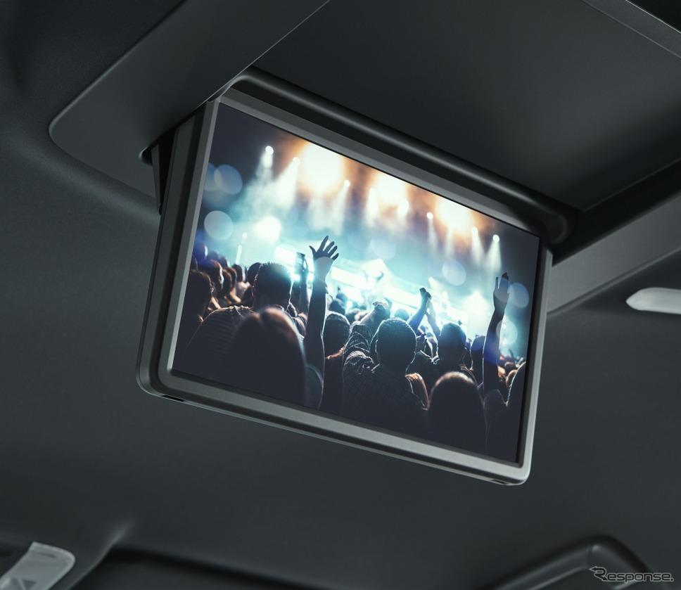 トヨタ ヴェルファイア 13.3インチリヤシートエンターテインメントシステム《画像:トヨタ自動車》
