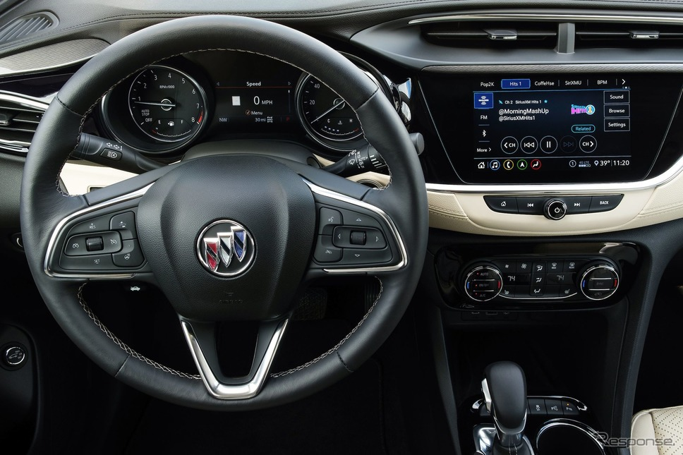 GMの新世代の車載インフォテインメントシステム、「シリウスXM with 360L」《photo by GM》
