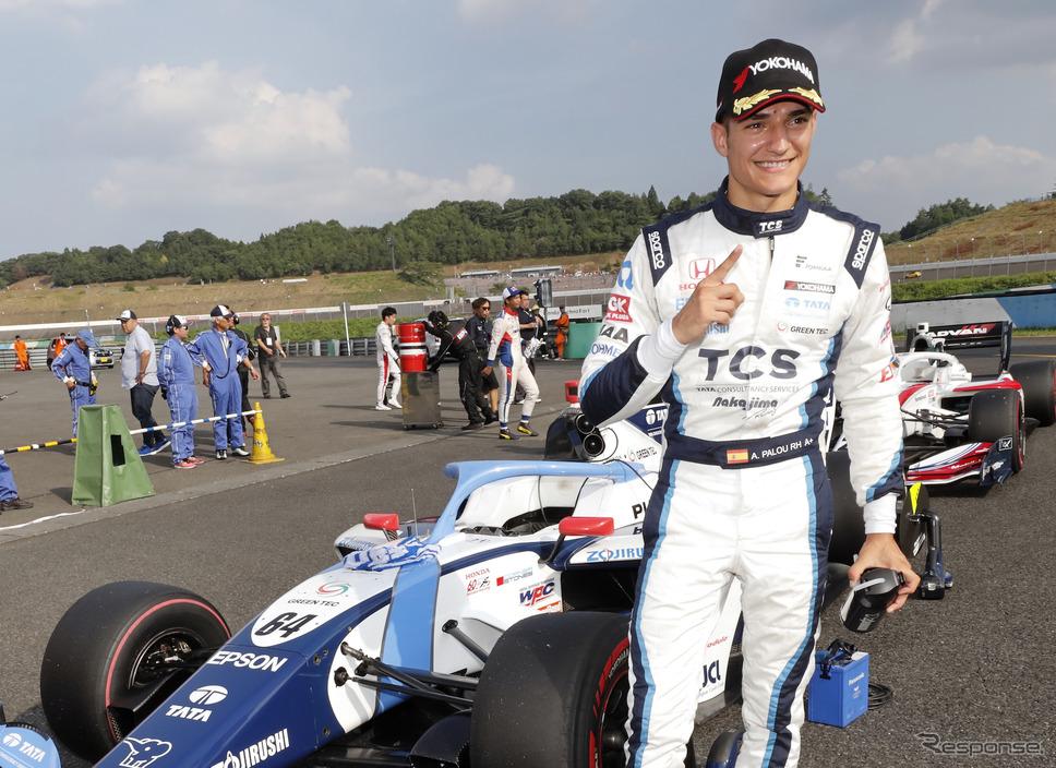 2020年はインディカー・シリーズを戦うことになったアレックス・パロウ(写真は2019年のスーパーフォーミュラ)。《写真提供 Honda》