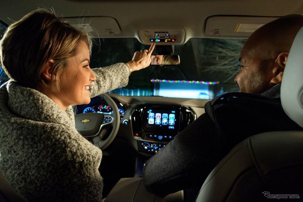 シボレーとオンスターによるサンタクロース追跡のイメージ《photo by Chevrolet》