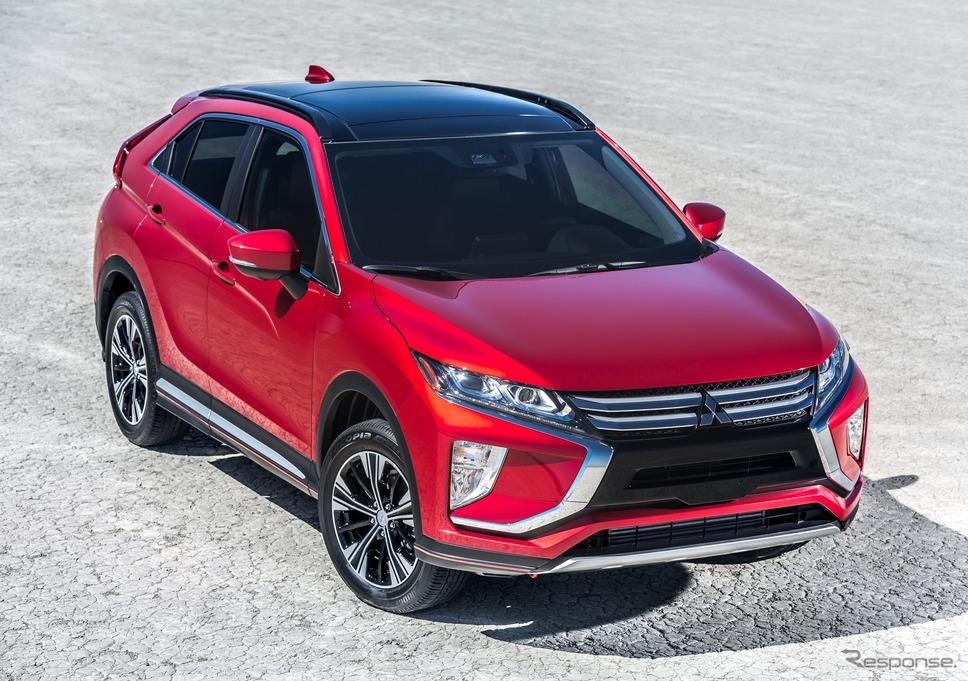 三菱 エクリプスクロス の2020年モデル《photo by Mitsubishi Motors》