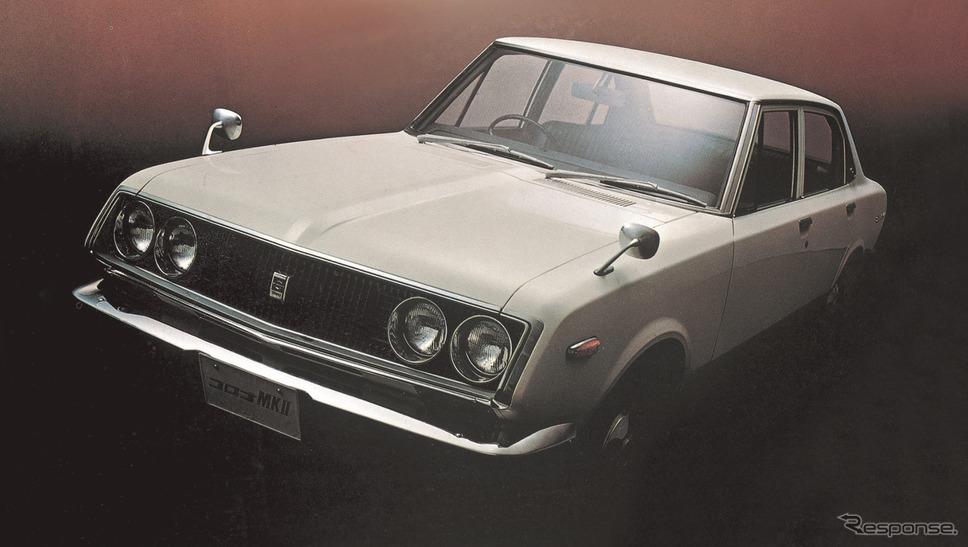 トヨタ・コロナマークII初代《写真 トヨタ自動車》
