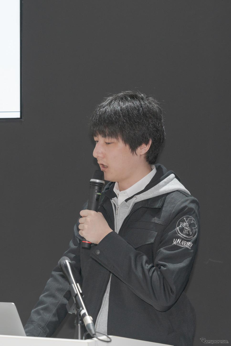 ゲヒルン株式会社代表取締役・石森大貴氏。《撮影 関口敬文》