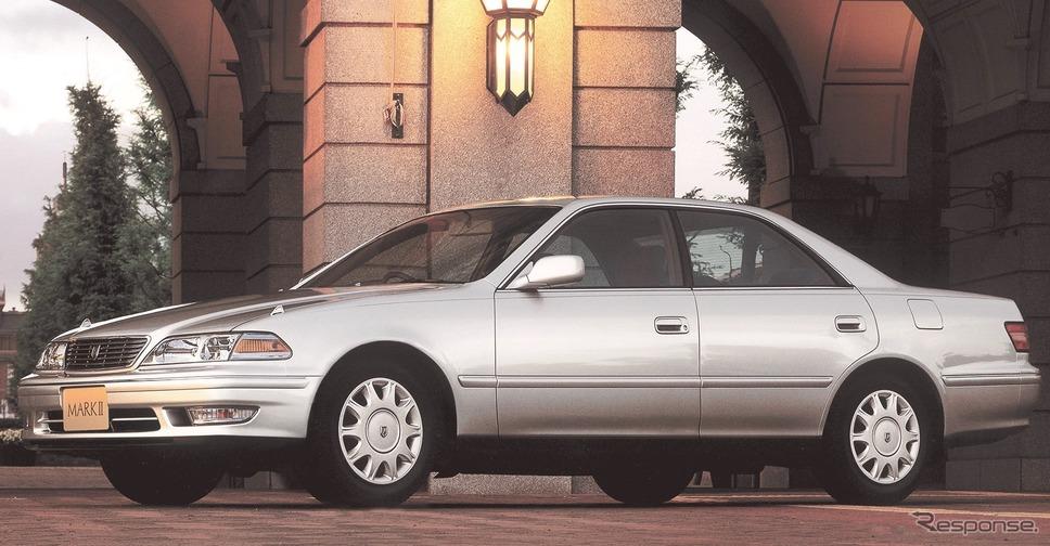 8代目:マークII(1996年)《写真 トヨタ自動車》