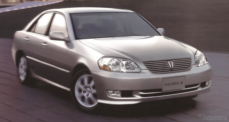 9代目:マークII(2000年)《写真 トヨタ自動車》