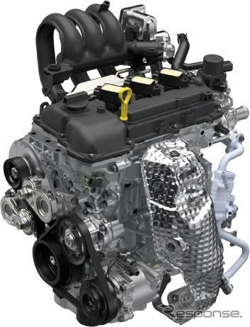 新開発R06D型エンジン《画像:スズキ》