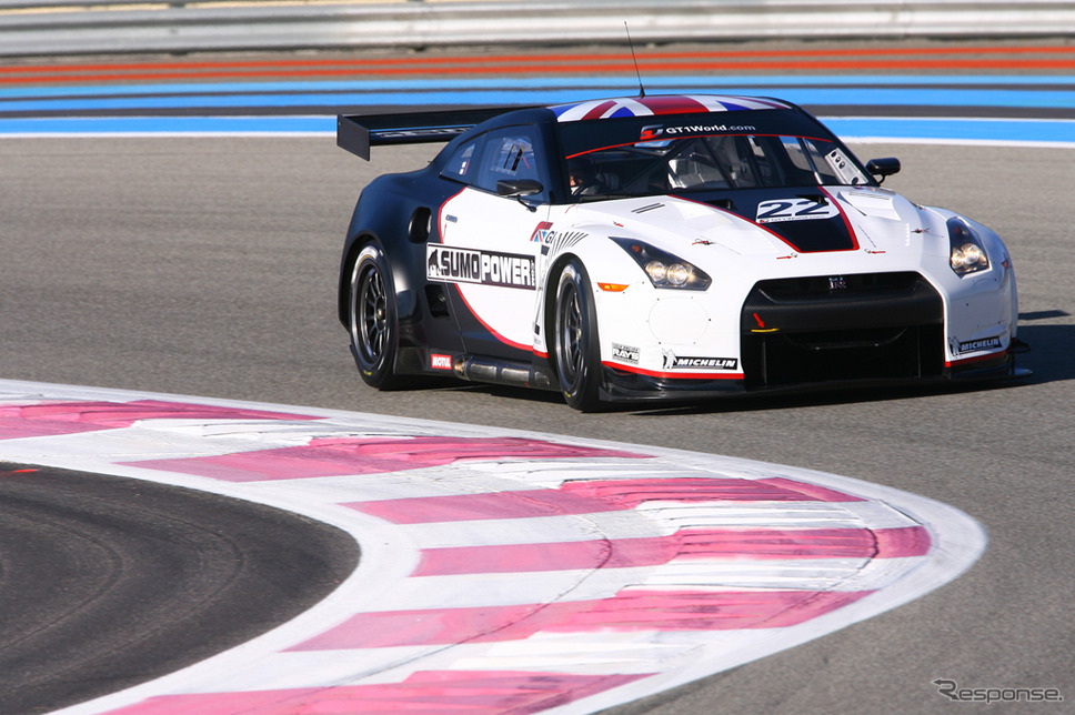 日産 GT-R の FIA GT1 世界選手権仕様(参考画像)《photo by Nissan》