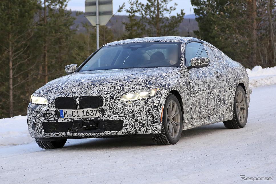 BMW 4シリーズクーペ 新型プロトタイプ(スクープ写真)《APOLLO NEWS SERVICE》