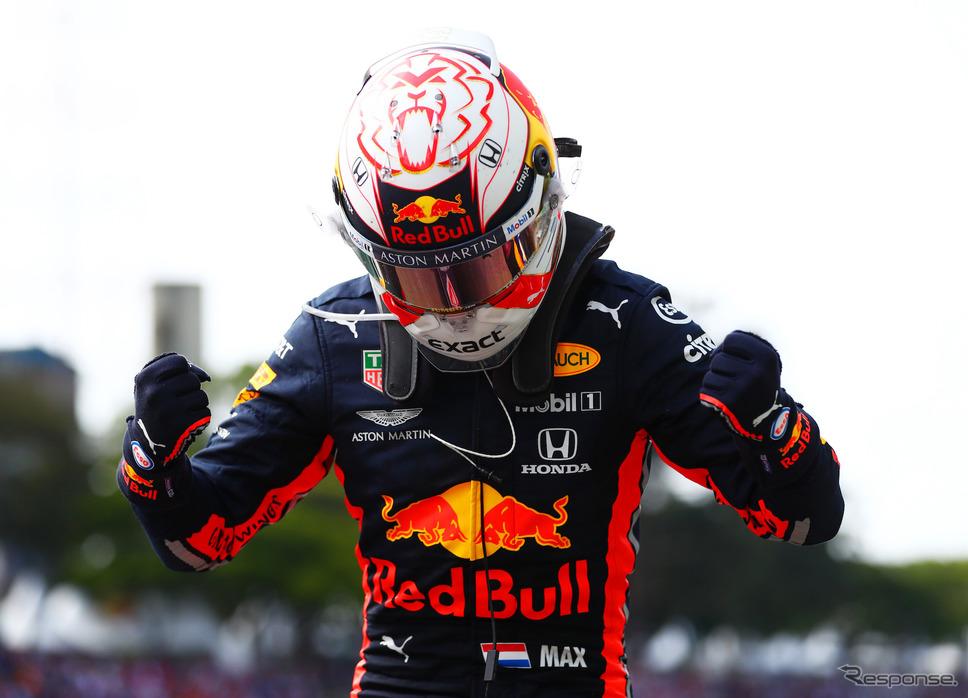 レッドブル・ホンダの#33 マックス・フェルスタッペン(写真は2019年シーズン)。《写真提供 Red Bull》