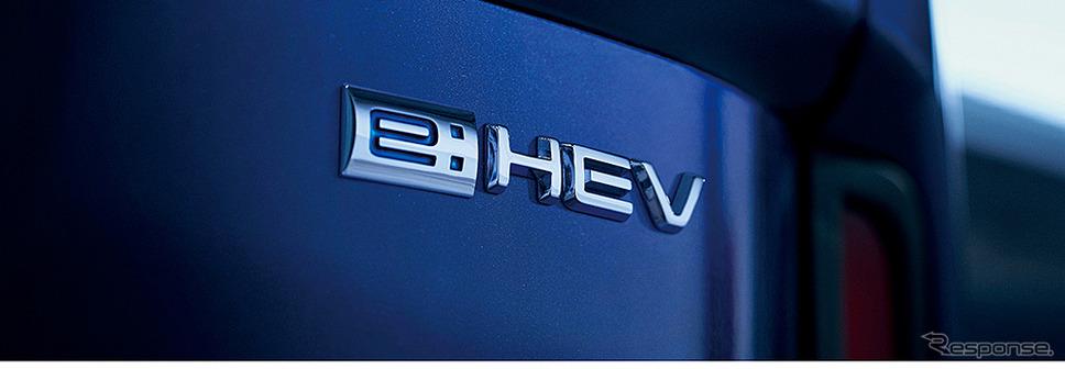 ホンダ ステップワゴン e:HEV スパーダ(e:HEVエンブレム)《画像:本田技研工業》