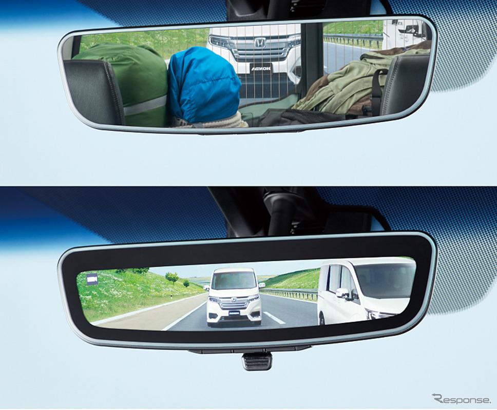 ホンダ ステップワゴン アドバンスドルームミラー(ディーラーオプション)《画像:本田技研工業》