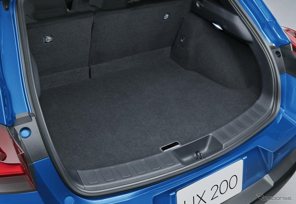 レクサス UX200ブルーエディション《画像:トヨタ自動車》