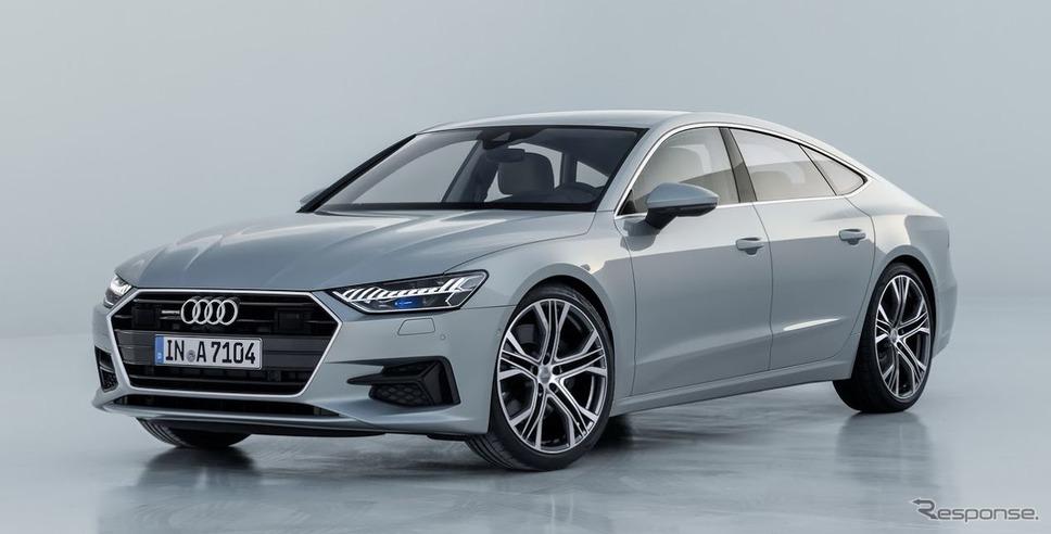 アウディA7スポーツバック新型《photo by Audi》