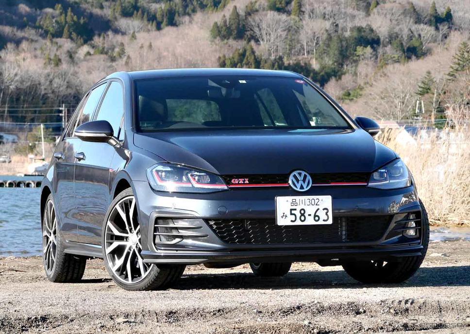 VW ゴルフ GTIパフォーマンス撮影 中村孝仁