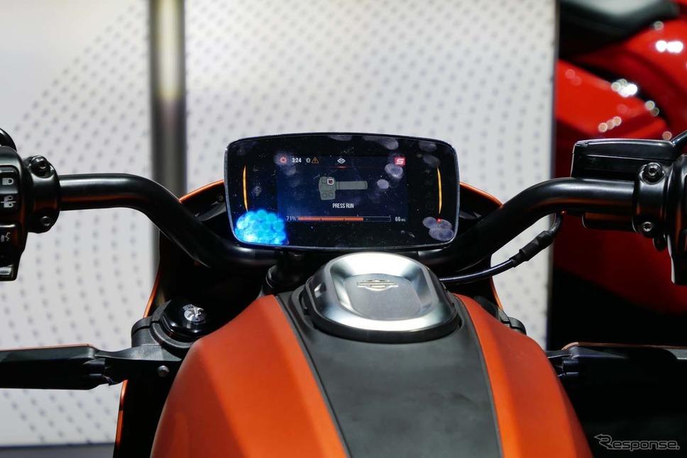 ハーレーダビットソンの電動バイク「LiveWire」向けのコネクティッドサービス