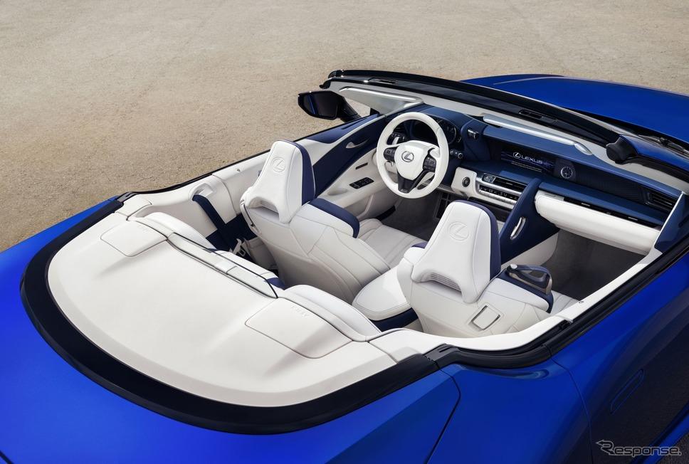 レクサスLC500コンバーチブル《photo by Lexus》