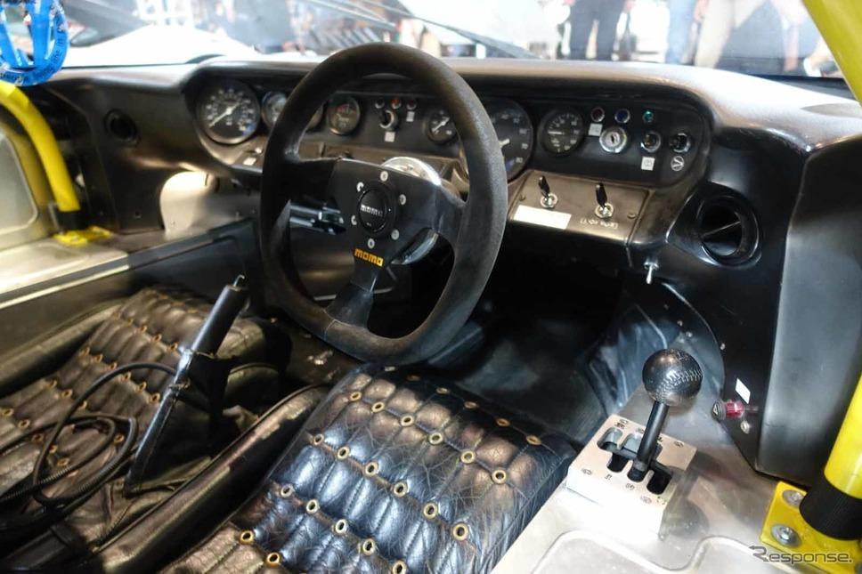 リバティーウォークのランボルギーニ・ミウラ風フォードGT(東京オートサロン2020)撮影 中村孝仁