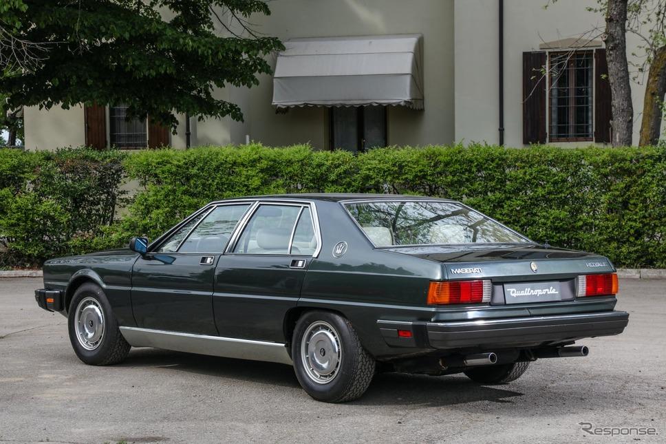 マセラティ・クアトロポルテ・ロワイヤル(1986年)《photo by Maserati》