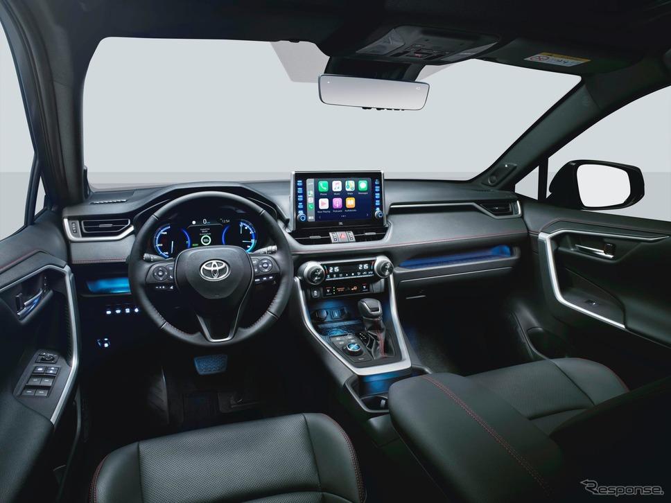 トヨタ RAV4 新型のPHV(欧州仕様)《photo by Toyota》