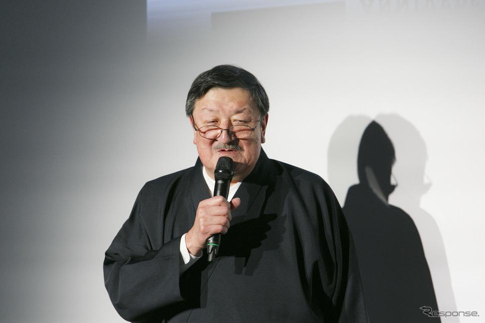 タカラトミー 代表取締役会長 富山幹太郎氏《撮影 佐藤隆博》