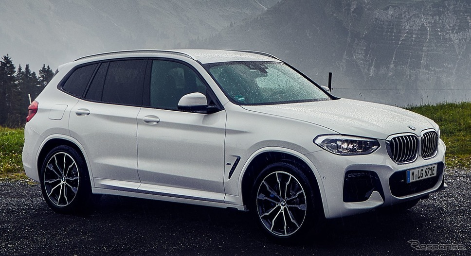 BMW X3 新型のPHV「xDrive30e」《photo by BMW》