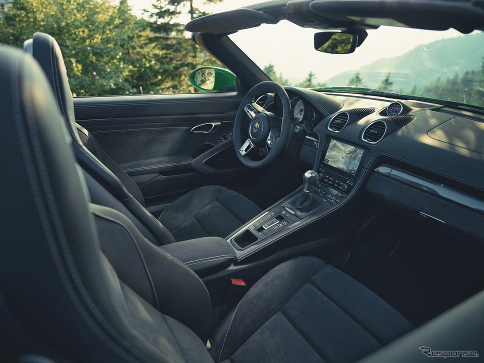 ポルシェ 718 ボクスター GTS 4.0《photo by Porsche》