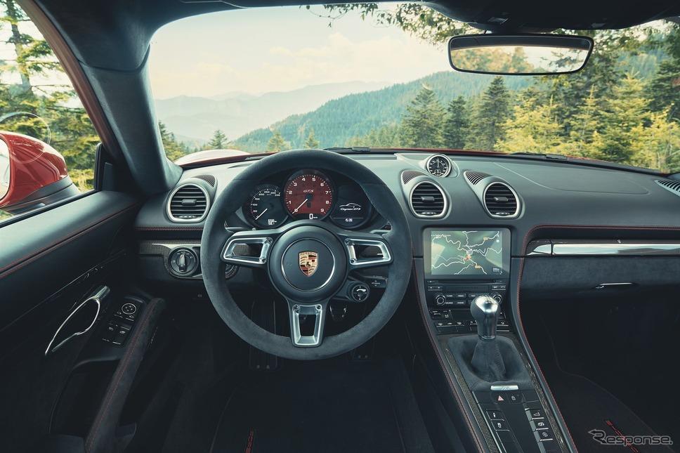 ポルシェ 718 ケイマン GTS 4.0《photo by Porsche》