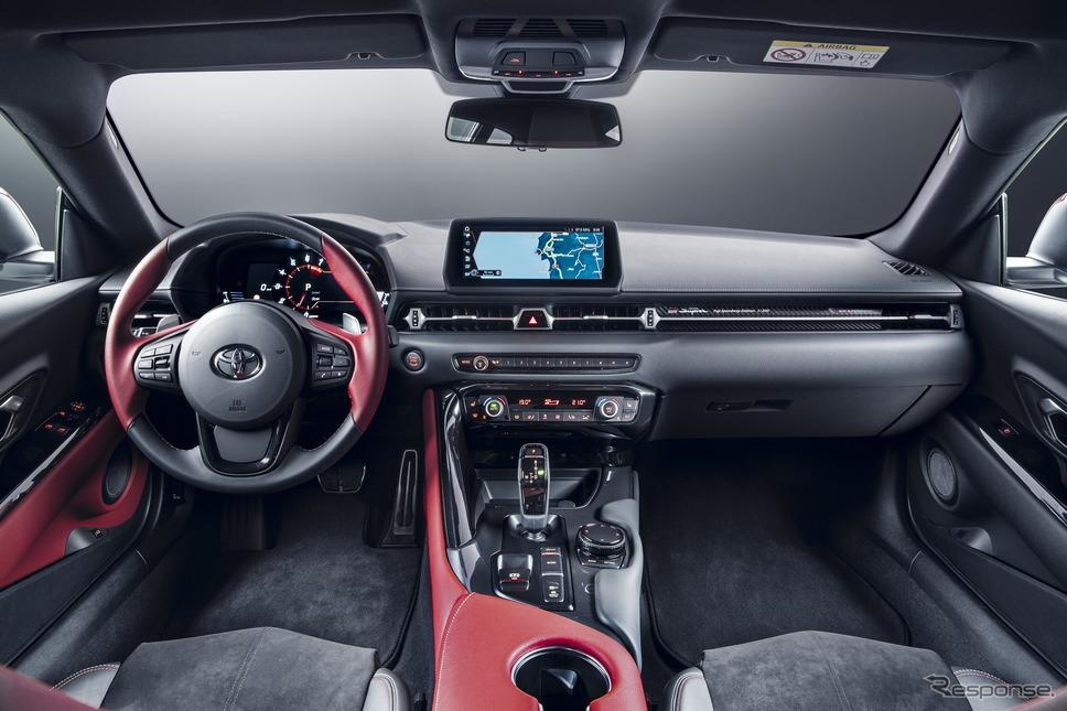 トヨタ・スープラ 新型の2.0リットル搭載車の欧州発売記念限定モデル「富士スピードウェイ・エディション」《photo by Toyota》