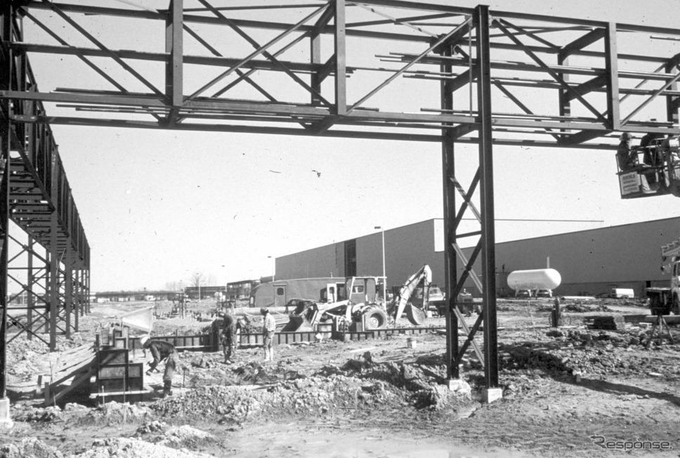 1981年、メアリズビル四輪工場建設《photo by Honda》