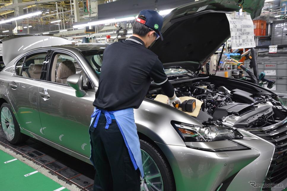 トヨタ自動車元町工場《撮影 トヨタ自動車》
