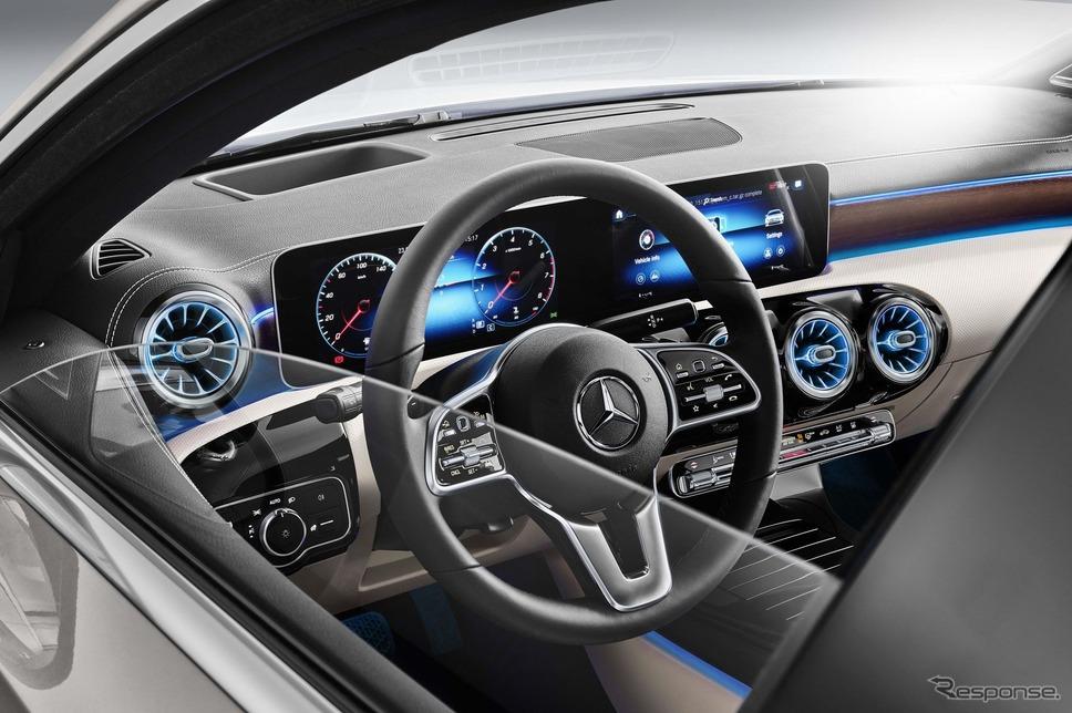 メルセデスベンツAクラスセダン《photo by Mercedes-Benz》