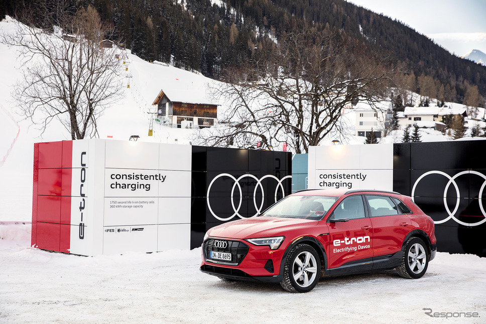 アウディの移動式充電コンテナ《photo by Audi》