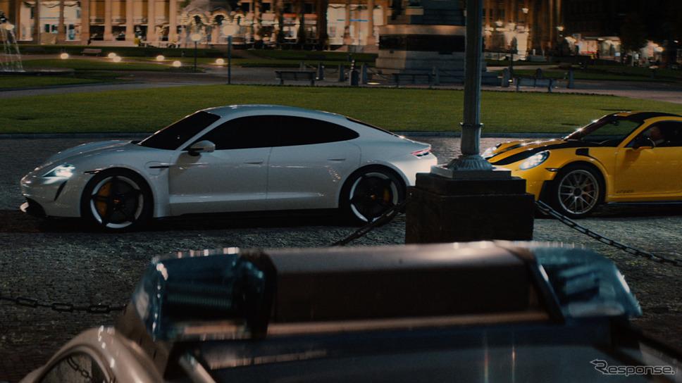 ポルシェのスーパーボウルCM《photo by Porsche》