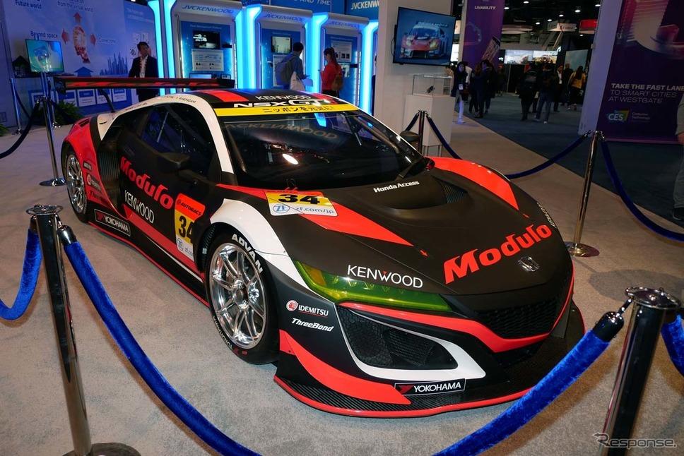 GT3レースに出場できるホンダNSX。JVCケンウッドがオンボードカメラにドラレコを搭載する《撮影 会田肇》