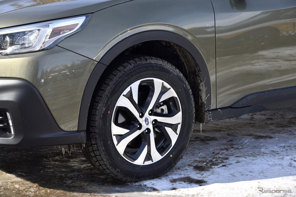 レガシィアウトバック新型(SUBARU ゲレンデタクシー)《撮影 雪岡直樹》
