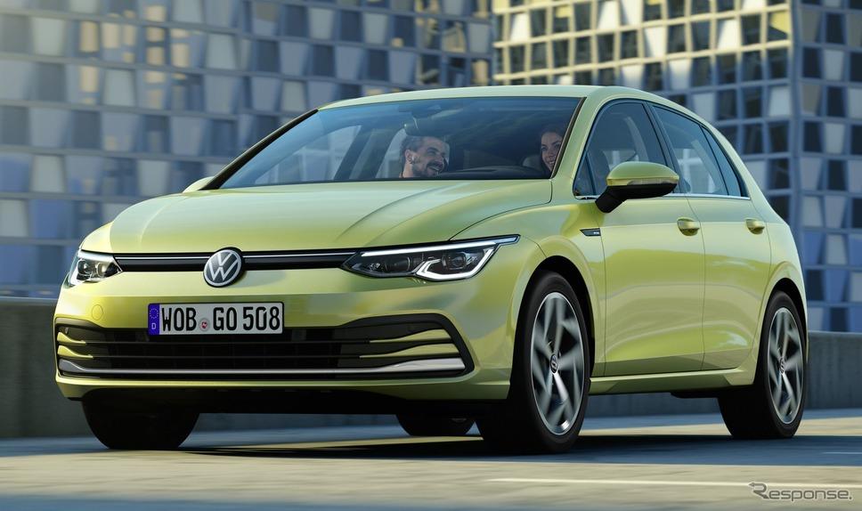フォルクスワーゲン・ゴルフ 新型(欧州仕様)《photo by VW》