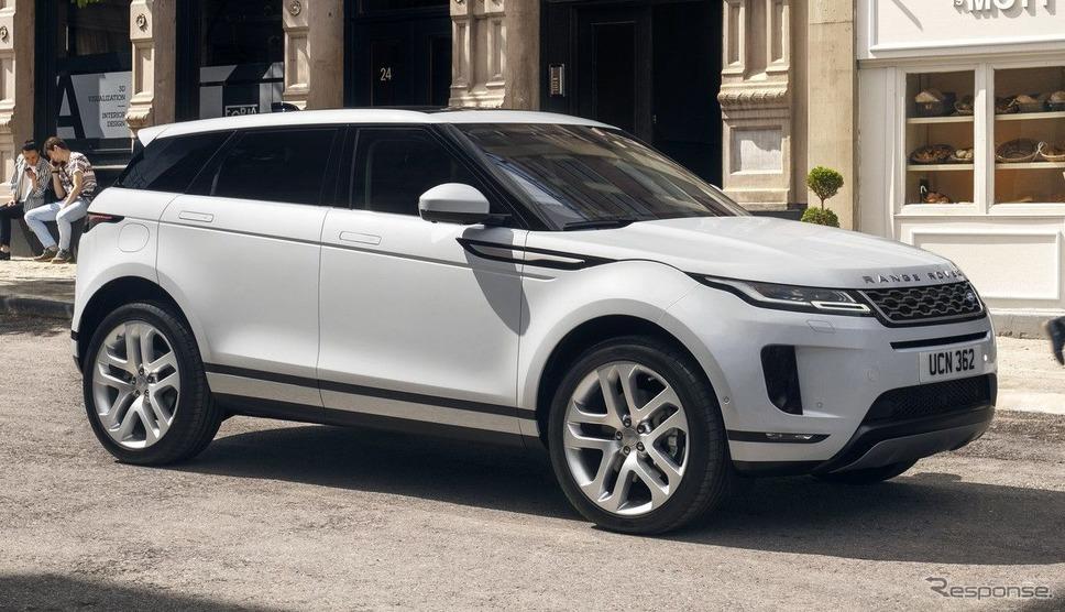 ランドローバー・レンジローバー・イヴォーク 新型(欧州仕様)《photo by Land Rover》