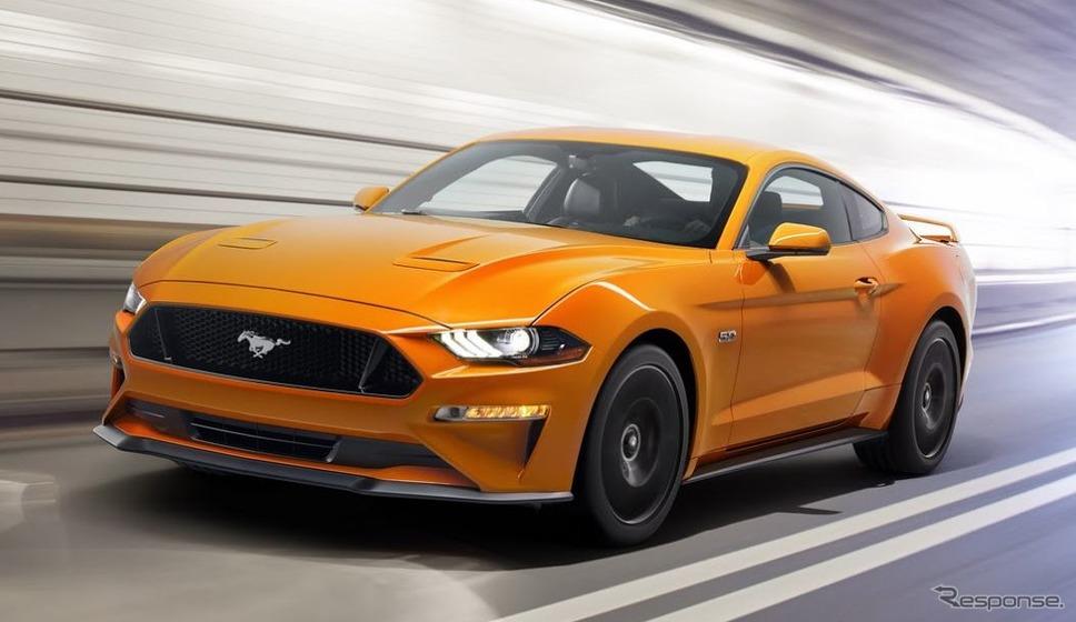 フォード・マスタング《photo by Ford Motor》